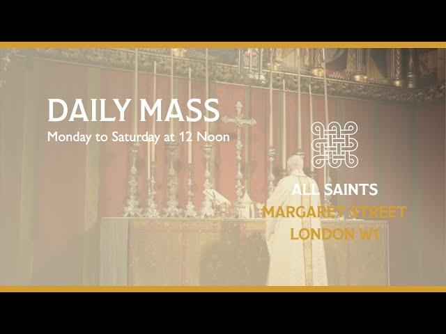 Daily Mass on the 9th April 2021