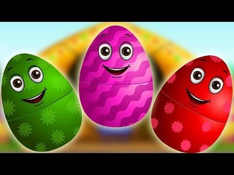 Download Surprise Eggs Nursery Rhymes  Old MacDonald Had A Farm  Learn Colours & Farm Animals  ChuChu TV