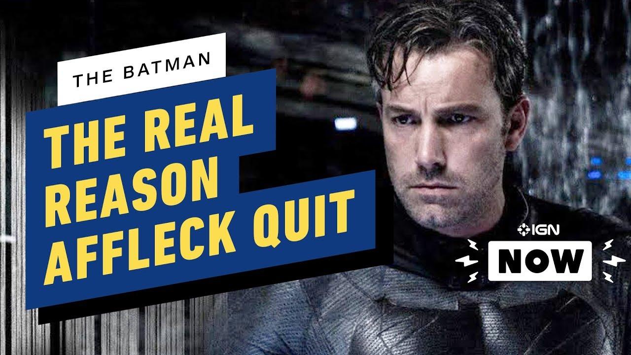 The Batman: The Real Reason Ben Affleck Left + vídeo