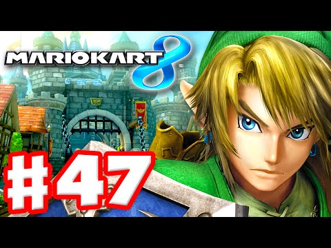 Mario Kart 8 - Gameplay Part 47 - 50cc Egg Cup and Triforce Cup DLC (Nintendo Wii U Walkthrough)