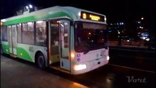 Черниговский троллейбус | Обрыв контактной сети (06.12.17)