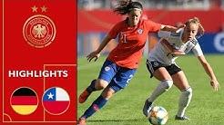 Deutschland - Chile 2:0 | Highlights | Frauen Länderspiel