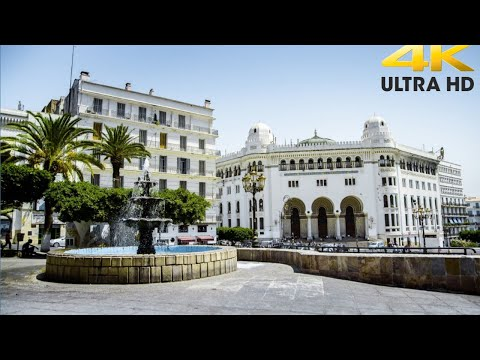 Exploring Algeria - Tour in Algiers   Audin Square + Didouche Mourad Street +  Central Post   2020