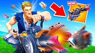 The NEW WEAPON UPDATE in Fortnite! (Overpowered?)