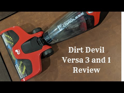 Dirt Devil Versa Review