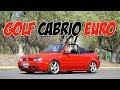 VW Golf Cabrio Euro, un modelo para fans del estilo clean