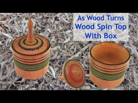 woodturning-a-wood-spin-top-with-built-in-box