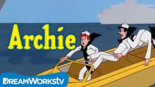 The Gang Dress Up Like Navy Sailors | THE ARCHIE SHOW
