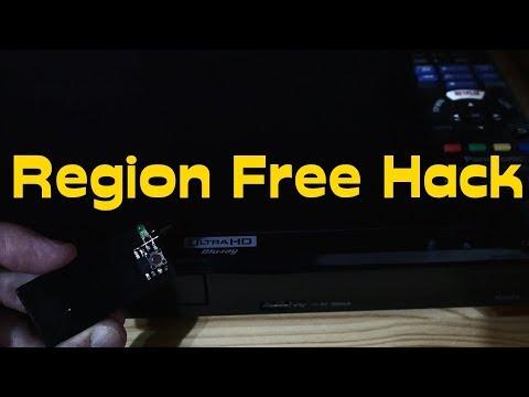 Panasonic DP-UB320 Blu Ray/dvd Player Region Free Hack