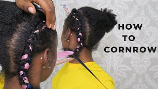 Beginners Guide on How to Cornrow
