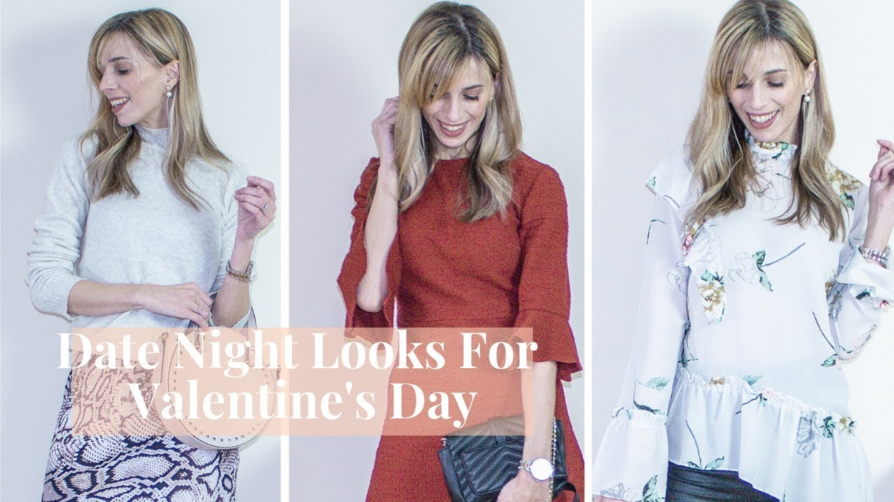 3 Date Night Outfit Ideas For Valentine's Day | Kate Louise Blogs 1