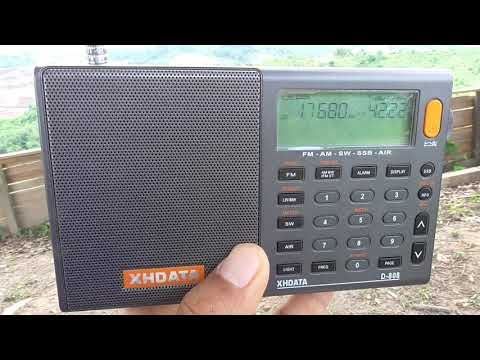 China Radio Int. 17680 KHz Spanish to South Europe
