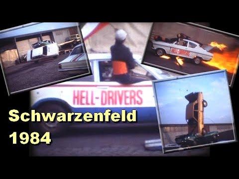 Stunt-Show in Schwarzenfeld 1984