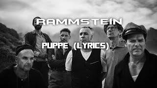 Rammstein - Puppe (LYRICS) ENGLISH