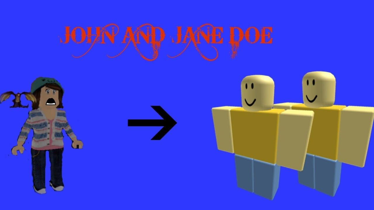 The History of John and Jane Doe (Roblox) - YouTube