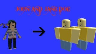 The History of John and Jane Doe (Roblox)