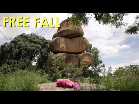 FREE FALL -  The balancing rocks on Zimbabwe's currency topple