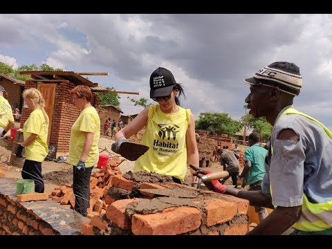 Voluntarii Habitat For Humanity România Construiesc Case în Malawi   Long