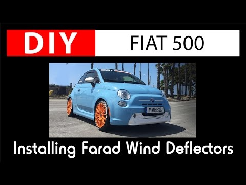How to Install: Farad Wind Deflectors
