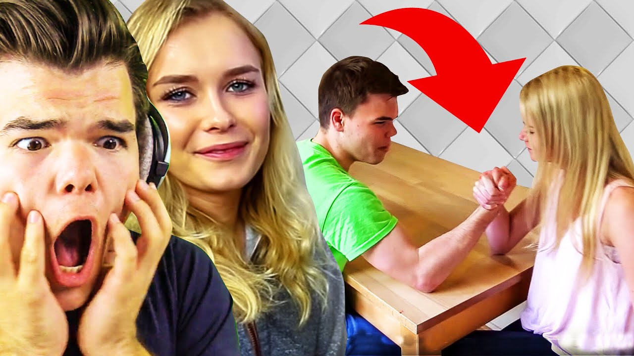 Reacting To Our First Videos With My Girlfriend
