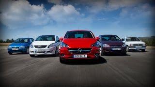 2014 Opel Corsa — За кадром