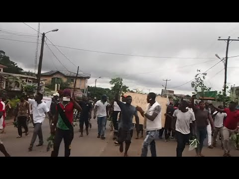 Ghost town and strike action in buea