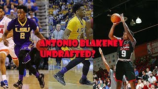 The Reason why Antonio Blakeney was not drafted