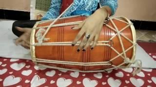 Special bhajan and fingers practice # Lesson # 17 ढोलक सीखे #