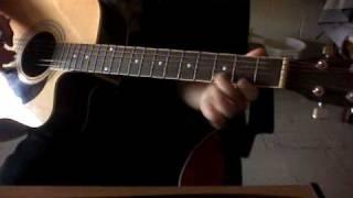 Disagree - Scarecrow Adams Intro (Acoustic Guitar)