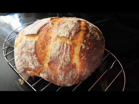 Easy Homemade Sourdough Bread Tutorial In 5 Minutes