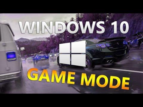 Игровой режим в Windows 10: что он делает и как работает