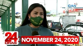 24 Oras Express: November 24, 2020 [HD]