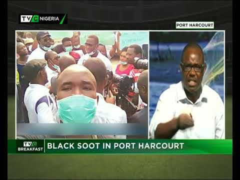TVC Breakfast  12th March 2018 | Black Soot in Port Harcourt