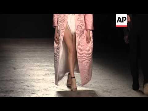 Francesco Scognamiglio presents new collection at Milan Fashion Week