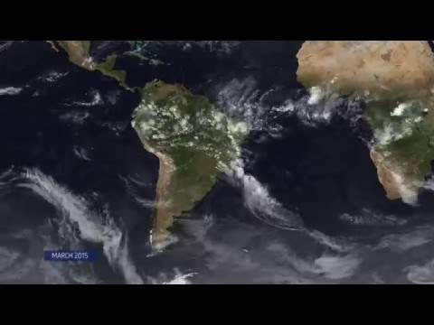 South American Weather Patterns 2015