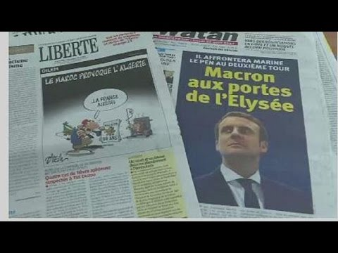 Algeria: Media frenzy over French presidential election