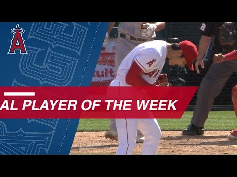 Ohtani wins AL Player of the Week