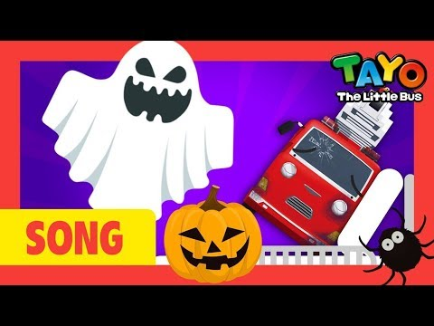 Tayo Halloween Miss Polly had a dolly l Nursery Rhymes l Tayo the Little Bus