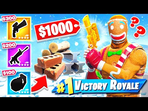 Fortnite SHOPPING Challenge *NEW* Game Mode in Fortnite Battle Royale thumbnail