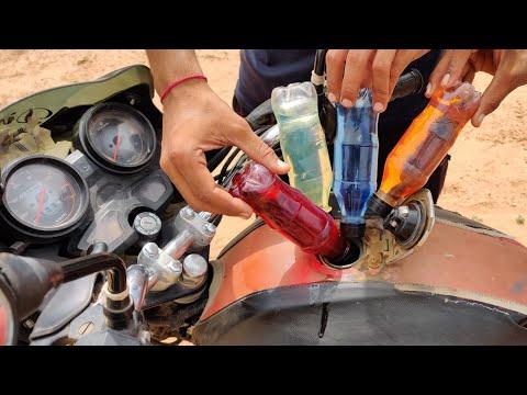 Mixing Petrol + Diesel + Engine Oil + Kerosene in Bike Tank || What Happened Next || Experiment King