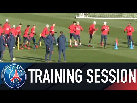Paris Saint-Germain training session PARIS SAINT-GERMAIN vs FC NANTES