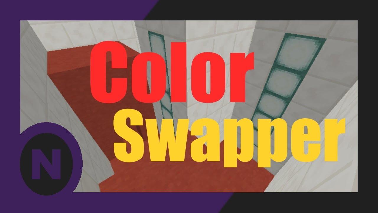 [MC-CM] Color Swapper The Colors will Guide Me
