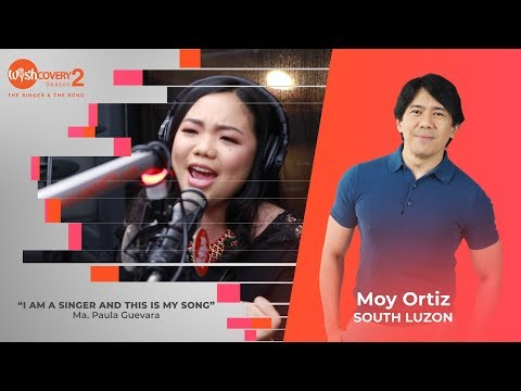 "Wishcovery Season 2: Paula Guevara performs ""I Am A Singer And This Is My Song"""
