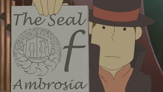 The Seal of Ambrosia - Professor Layton and the Eternal Diva [Nomax]