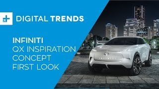 Infiniti QX Inspiration Concept - First Look at Detroit Auto Show 2019