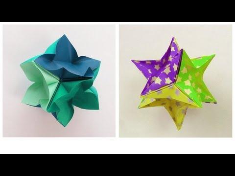 Ivamia Kusudama Origami Tutorial Youtube