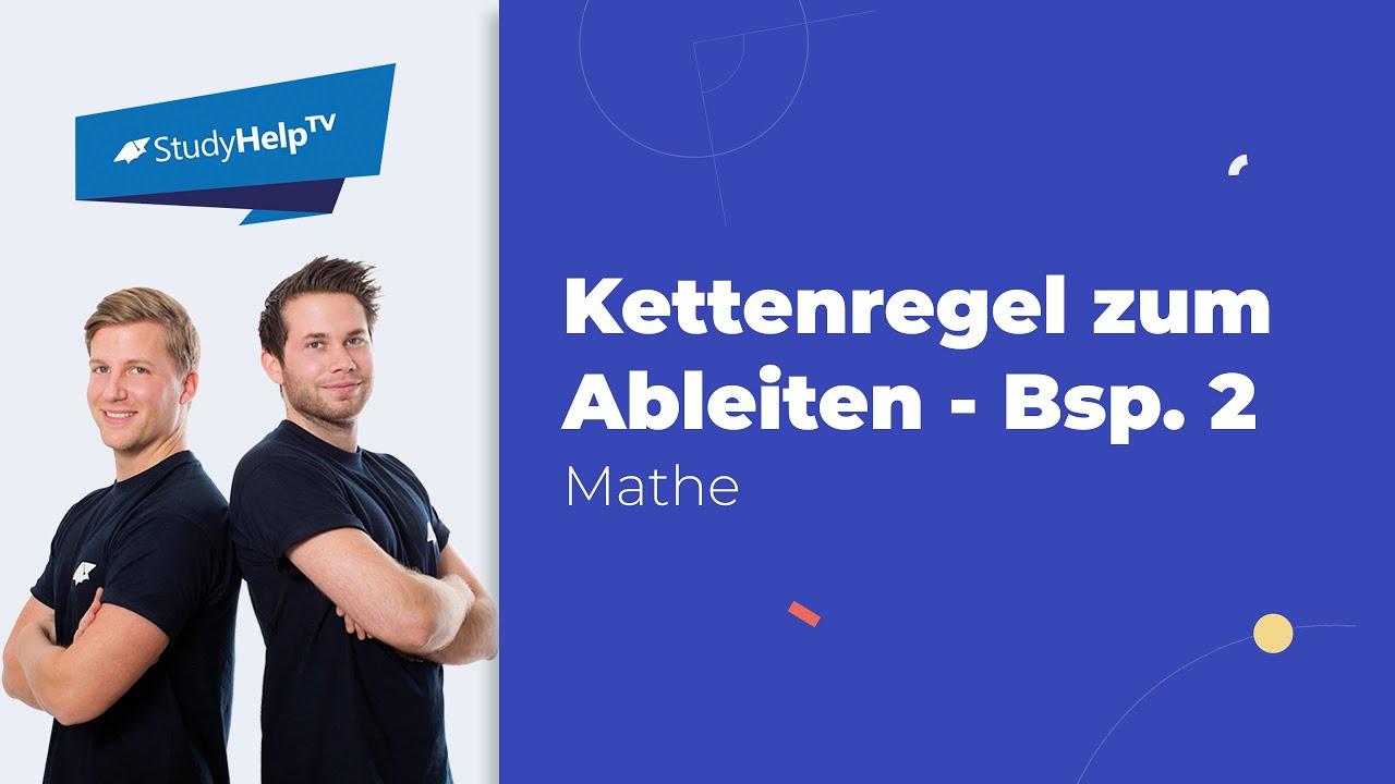Kettenregel 2 - Ableitungen - Mathematik - YouTube