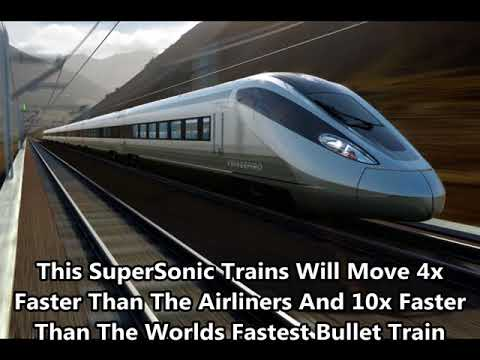 China's SuperSonic Train Travels In 4000Km/h Speed - TFlight