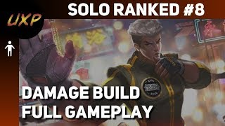 Chou Ranked Solo #8 (damage build) | unXpected | Mobile Legends