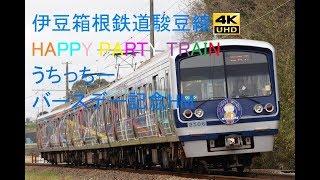 393 2019/03/21撮影 伊豆箱根鉄道駿豆線 HAPPY PARTY TRAIN うちっちーバースデー記念HM